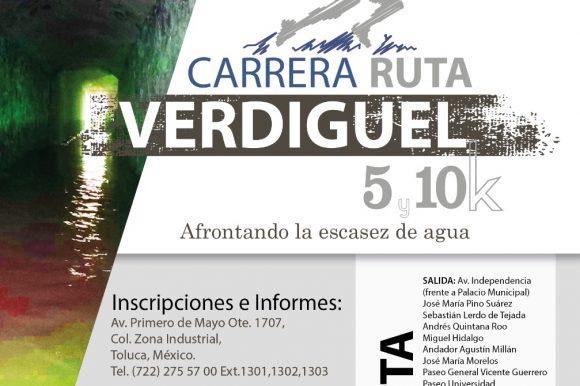 """OAYST ORGANIZA CARRERA """"RUTA VERDIGUEL"""" PARA CONMEMORAR EL DÍA MUNDIAL DEL AGUA"""