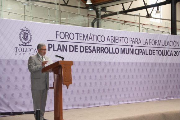 PROPONEN SOLUCIONES A PROBLEMÁTICA DEL AGUA EN FORO PARA PLAN DE DESARROLLO DE TOLUCA