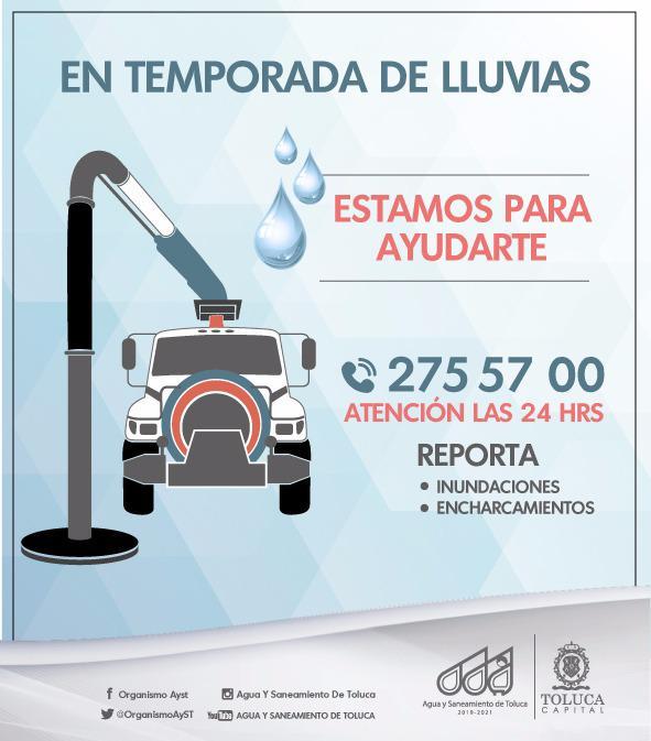 Ayst Toluca Inicial Pagos Agua Y Saneamiento De Toluca